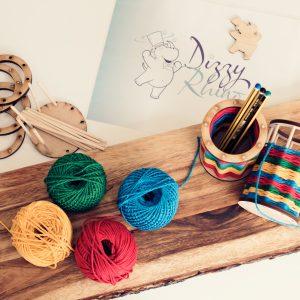 Pencil Pot Weaving Kit