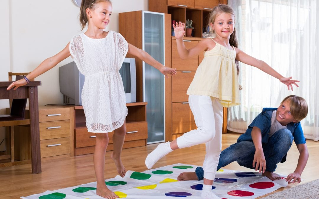 Party games for children's parties